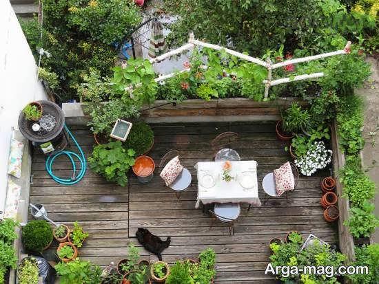 انواع نمونه های ایده آل دیزاین پشت بام