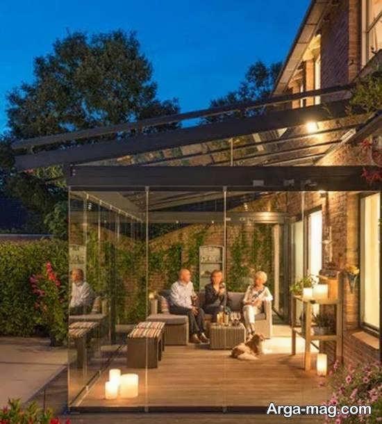ایده های فوق العاده طراحی پشت بام