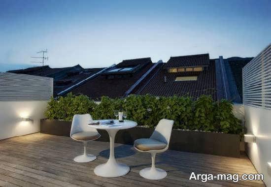 ایده هایی کاربردی و متنوع از دیزاین پشت بام