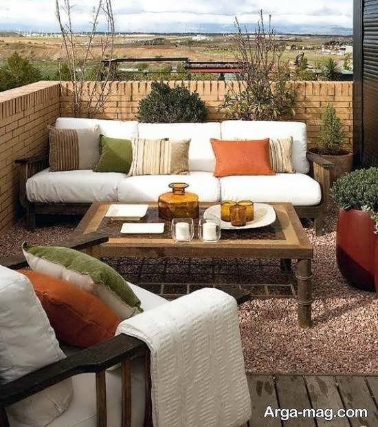تزیینات زیبا و متنوع برای پشت بام