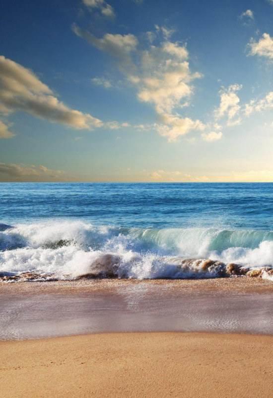 عکس پروفایل زیبا از لب دریا