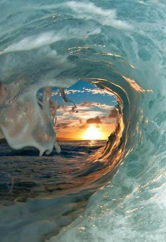 تصویر پروفایل موج دریا