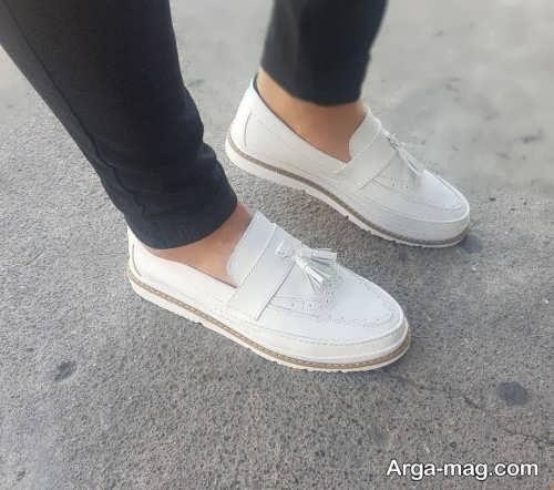 مدل های ست لباس با کفش سفید