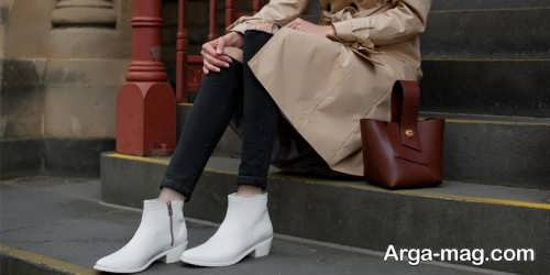 ست لباس دخترانه با کفش سفید