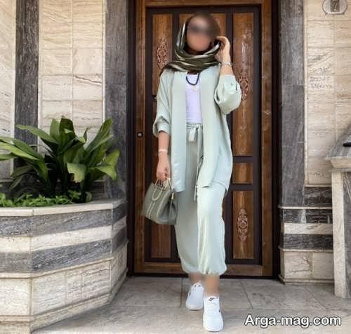 ست لباس ساده زنانه