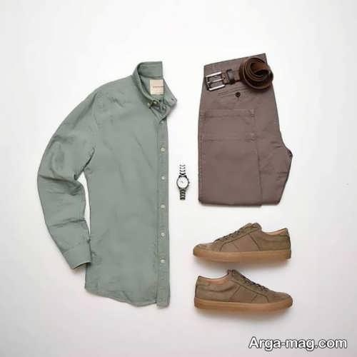 ست لباس های ساده مردانه شیک