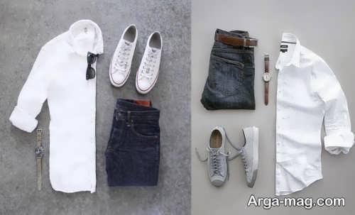 مدل ست لباس های ساده مردانه