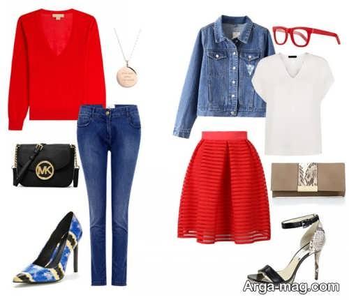 ست لباس های ساده زنانه و دخترانه