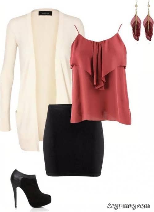 طرح ست لباس های ساده