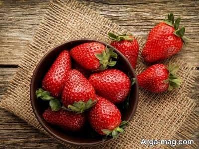 کالری توت فرنگی و فواید آن