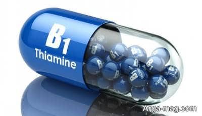 نشانه های کمبود ویتامین ب 1 در بدن