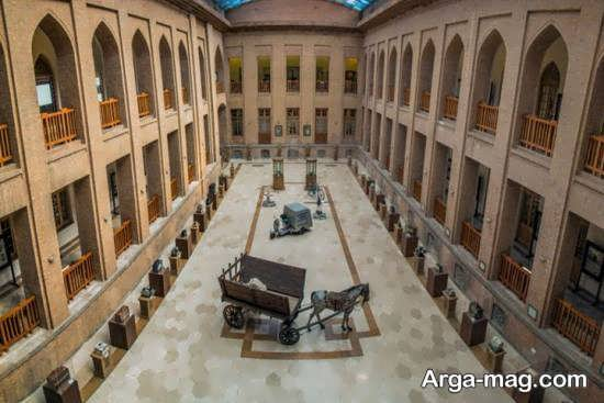 میدان مشق یکی از جاذبه های تاریخی ایران