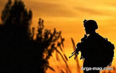 پیامک در مورد سربازی