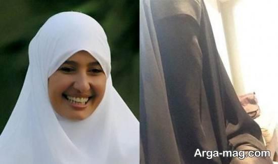 بازیگر معروف مصری محجبه شد!