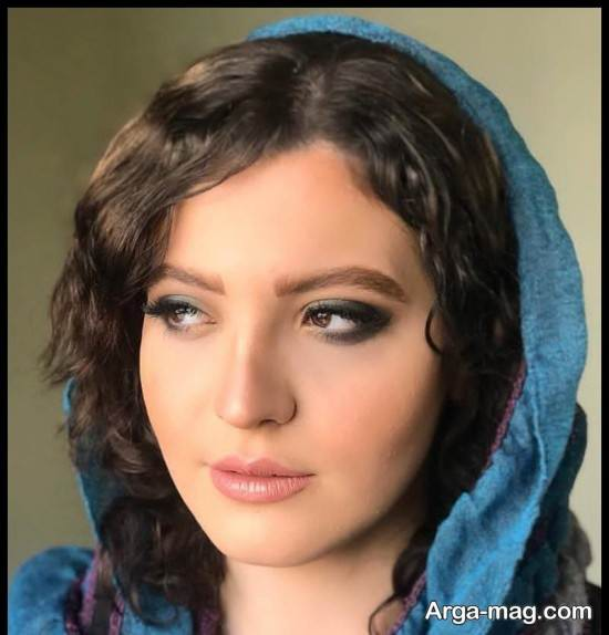 عکس های دینا هاشمی بازیگر سریال احضار