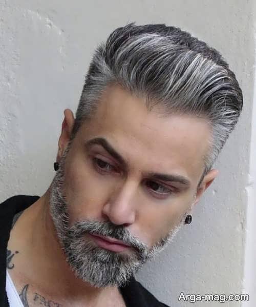رنگ موی مردانه زیبا