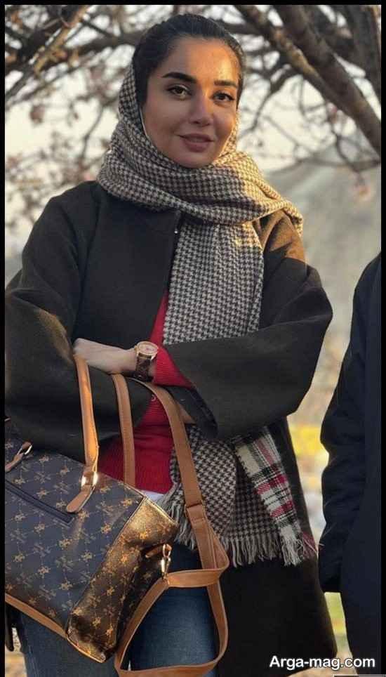 عکس های منتشر شده پشت صحنه نون خ توسط هدی استواری