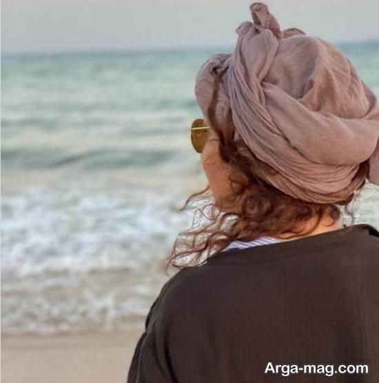 عکس جدید نیکی کریمی با چهره ای آفتاب سوخته در اهواز!