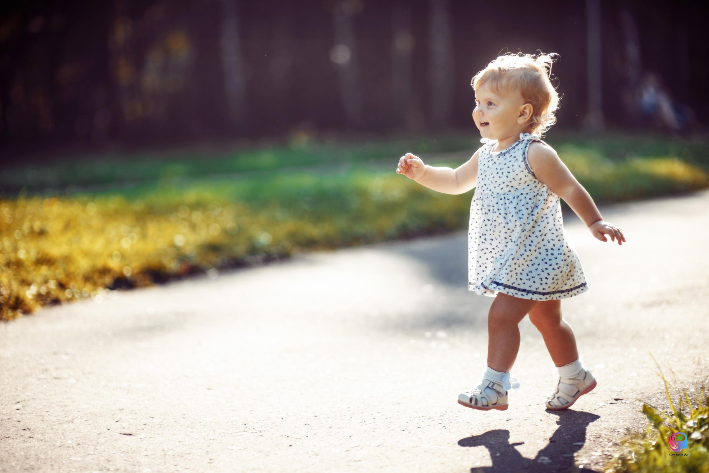نشانه های ترس کودک از راه رفتن