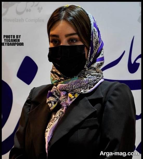 """سحر قریشی در مراسم اکران فیلم """"تکخال"""" در مشهد"""