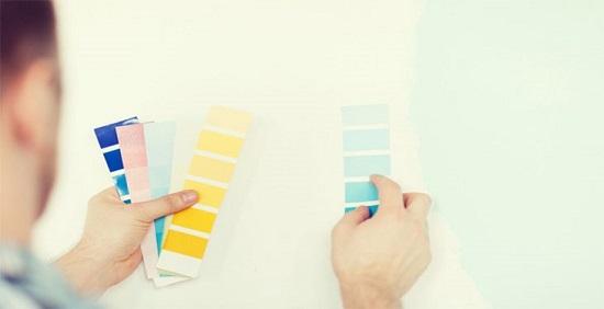 انتخاب رنگ خانه با توجه به ابعاد آن