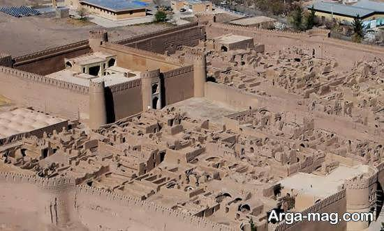 آشنایی با قلعه راین کرمان