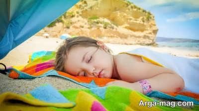 تاثیر خواب بعد از ظهر برای کودکان
