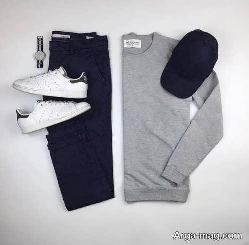 ست لباس مشکی مردانه