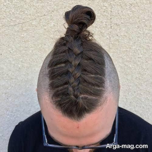 بافت مو ساده