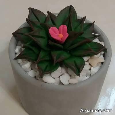 چگونگی ساخت جزیره برای گلدان