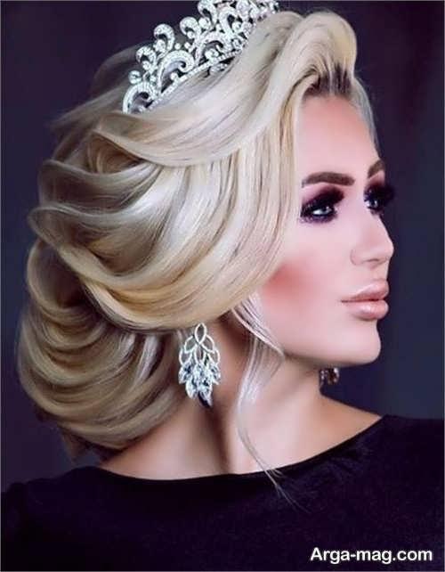 مدل شینیون شیک روسی
