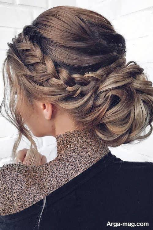 آرایش موی بسته برای خانم های قد بلند