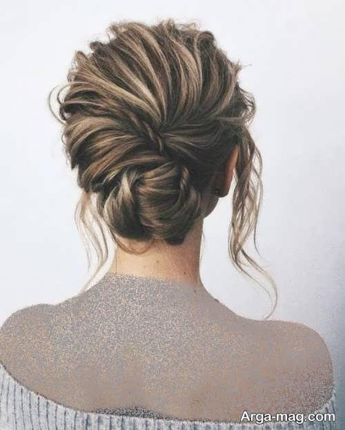 آرایش موی زیبا مخصوص افراد قد بلند