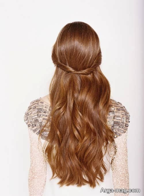 آرایش موی باز برای افراد قد بلند