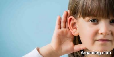 تمیز کردن گوش خردسالان