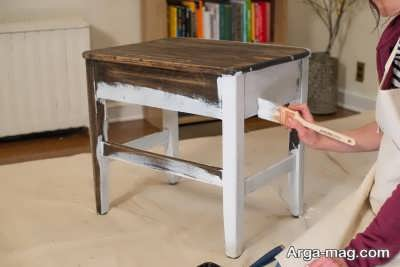 براق انداختن و تمیز کردن وسایل چوبی