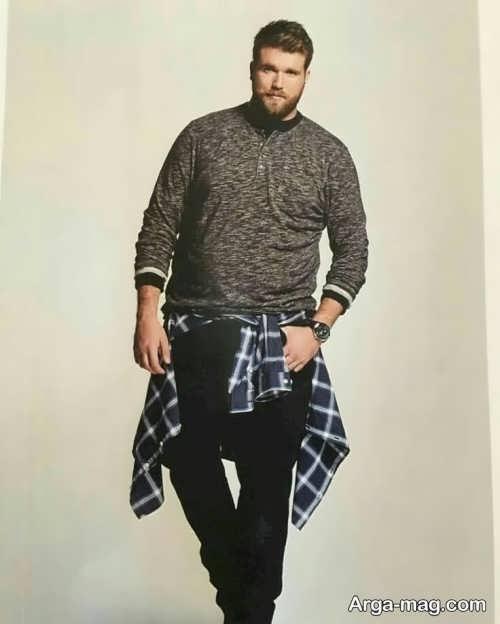ست لباس اسپرت و زیبا برای آقایان چاق