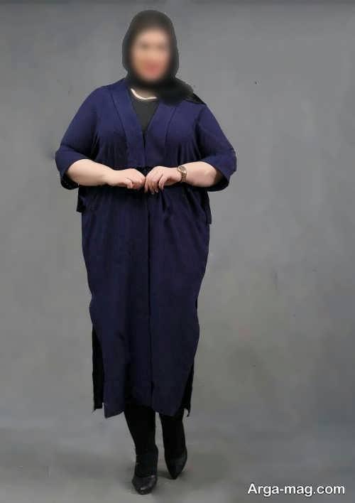 مدل های ست لباس افراد چاق