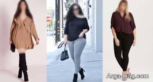 ست لباس برای افراد چاق