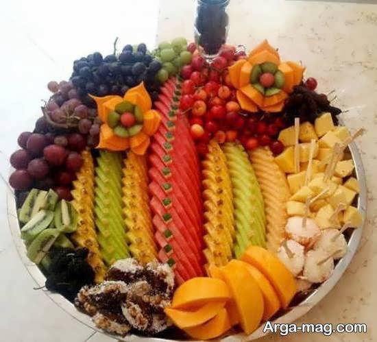 انواع نمونه های دوست داشتنی برش میوه