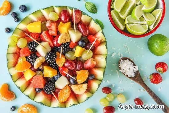 نمونه هایی بینظیر از برش میوه