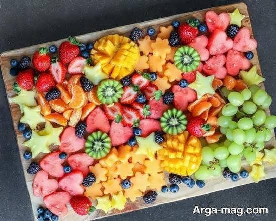 انواع نمونه های دیزاین قاچ میوه