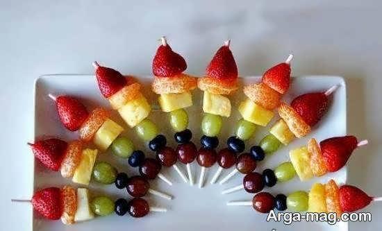 ایده هایی زیبا و جذاب از دیزاین با تکه های میوه