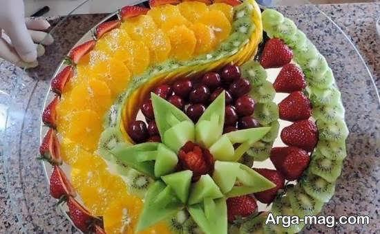 انواع ایده های خلاقانه و زیبای تکه های میوه