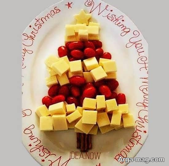 میوه آرایی با استفاده از تکه های میوه