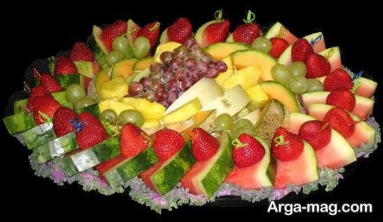 برش میوه در اشکال و اندازه ها مختلف