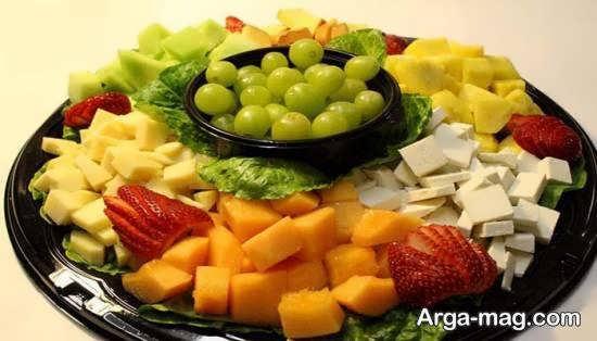 انواع نمونه های برش میوه