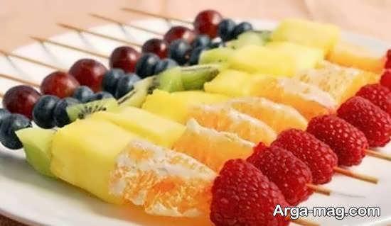 نمونه هایی خواستنی از دیزاین با قاچ میوه