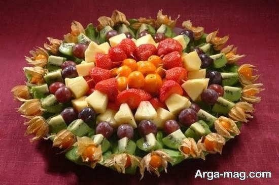ایده هایی متنوع از تزیینات با تکه های میوه