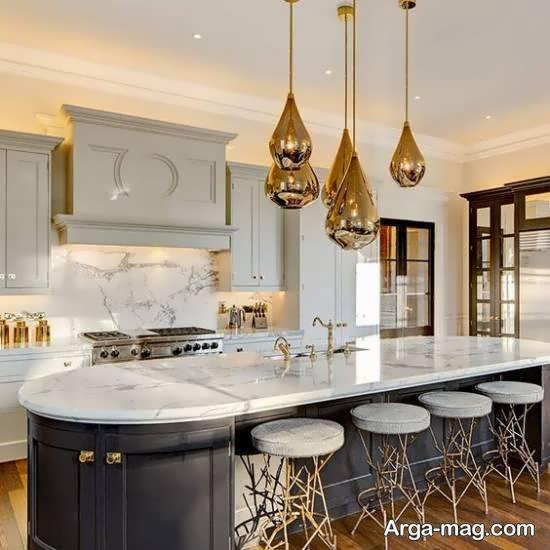 انتخاب نمونه کانتر مناسب آشپزخانه بر اساس رنگ و طرح